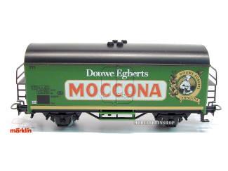 Marklin 4415 Gesloten Goederenwagen Douwe Egberts Moccona - Modeltreinshop