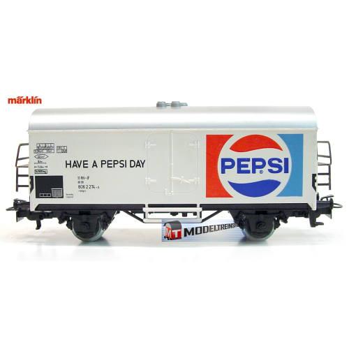 Marklin HO 4533 V1 Koelwagen Pepsi - Have a Pepsi Day - Modeltreinshop