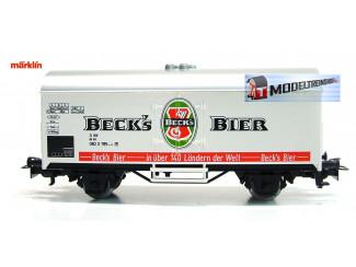Marklin Primex HO 4548 01 Bierwagen Beck's Bier - Modeltreinshop
