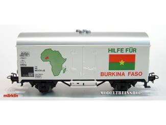 Marklin Primex HO 4593 V2 Goederenwagen Hilfe Für Burkina Faso - Modeltreinshop