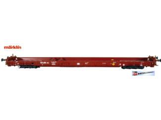 Marklin HO 4740 Lagevloerwagen voor vrachtwagentransport - Modeltreinshop