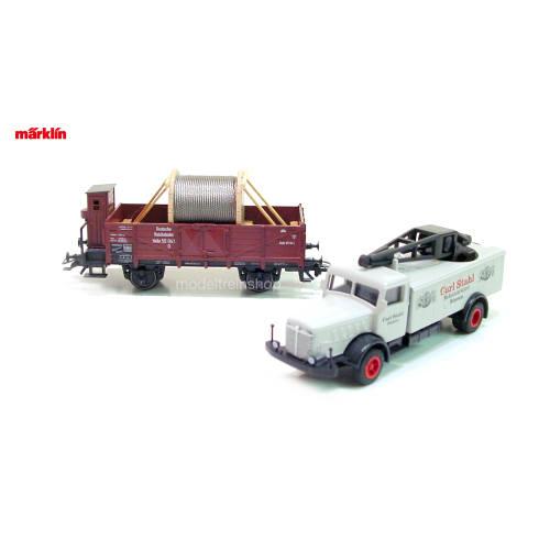 Marklin HO 48003 Wagen Set Museumswagen 2003 Modeltreinshop
