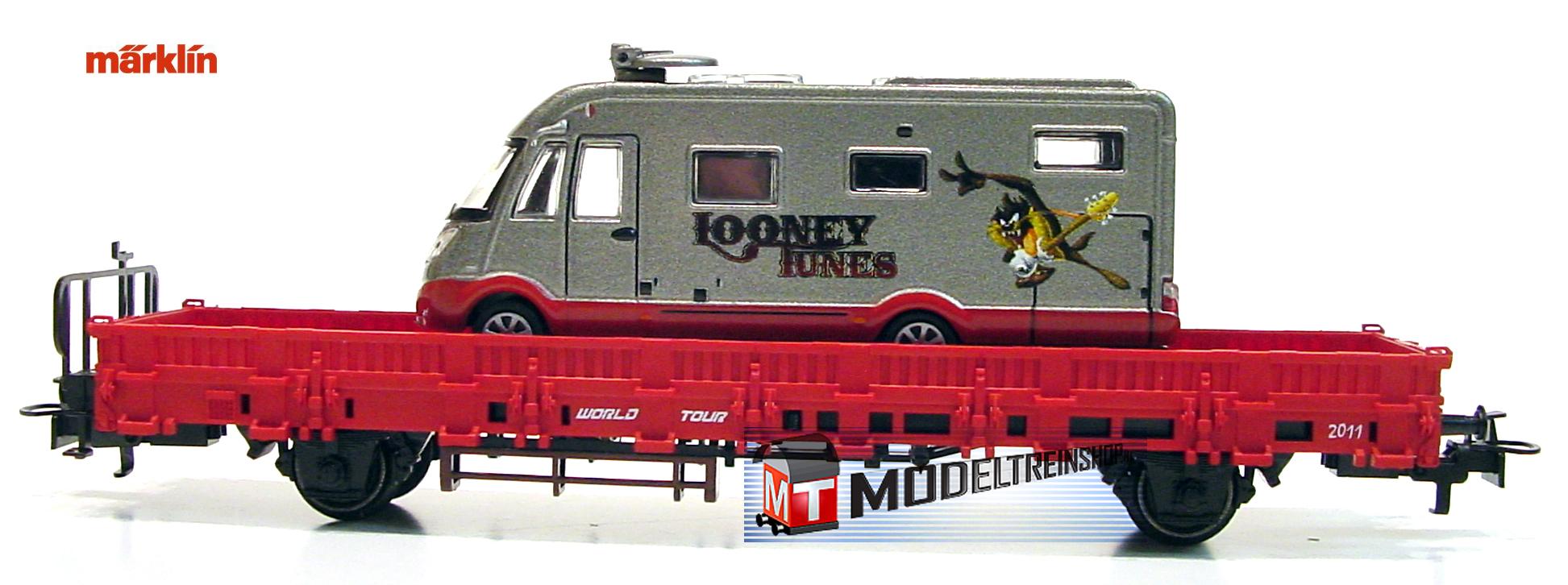 Marklin HO 48611 1.FC Jaarwagen 2011 Looney Tunes WORLD TOUR 2011 - Modeltreinshop