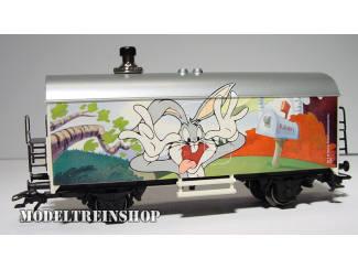 Marklin HO 48704 1.FC Jaarwagen 2004 Looney Tunes Bugs Bunny - met geluid - Modeltreinshop