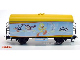 Marklin HO 48708 1. FC Märklin jaarwagen 2008 Looney Tunes - Modeltreinshop