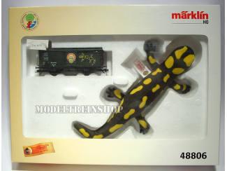 Marklin HO 48806 Gesloten Goederenwagen Marklin Magazine 1997 - Steiff - Modeltreinshop