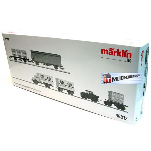 Marklin HO 48812 Goederenstransport van de Spangenberg Werke - Modeltreinshop