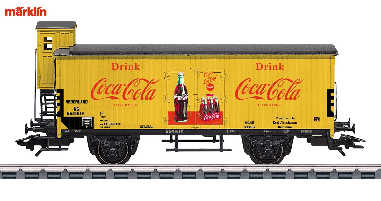 Marklin 48936 Gesloten goederenwagen G10 Coca Cola NS - Modeltreinshop
