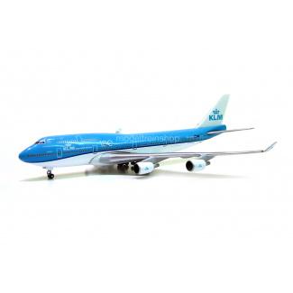 Herpa 529921-002 Boeing 747-400 KLM 100 jaar (NL) - Modeltreinshop