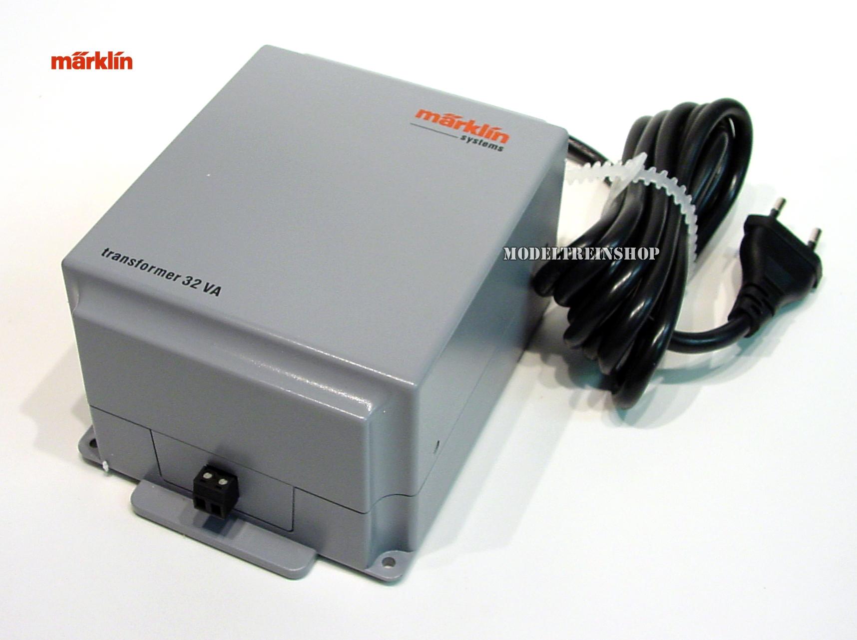 Marklin 60052 - 230volt Transformator 60va Modeltreinshop