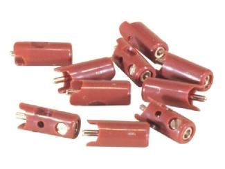 Marklin H0 71411 Pluggen Bruin per 10 stuks - Modeltreinshop