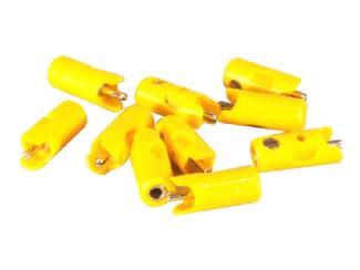 Marklin H0 71412 Pluggen Geel per 10 stuks - Modeltreinshop