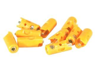 71414Marklin H0 71414 Pluggen Oranje per 10 stuks - Modeltreinshop