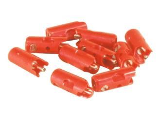 Marklin H0 71415 Pluggen Rood per 10 stuks - Modeltreinshop