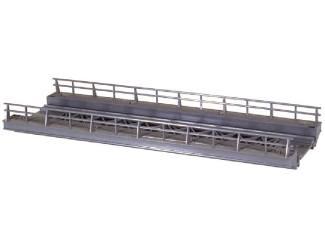 Marklin H0 7268 Brug Recht oprit voor M en K rail - Modeltreinshop