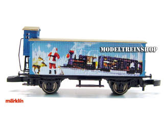 Marklin Z 80618 Christmas Car 2008 - Modeltreinshop