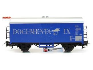 Marklin HO 4415 92718 Gesloten Goederenwagen Documenta IX - Modeltreinshop