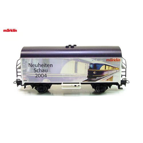 Marklin H0 94032 Box Car Marklin Neuheiten Schau 2004 - Modeltreinshop