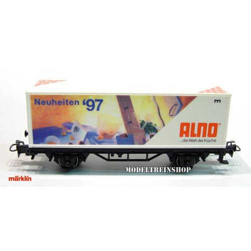 Marklin HO 4482.014 Container Wagen Neuheiten '97 Alno - Modeltreinshop