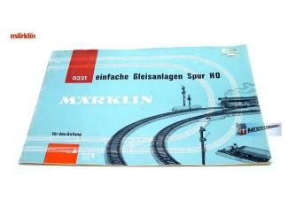 Marklin H0 0321 Einfache Gleisanlagen - Modeltreinshop