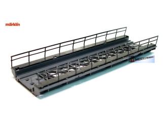 Marklin H0 7268 Brug Recht oprit voor M en K rail