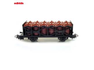 Marklin Primex H0 4587 V4 Tank Containerwagen - Modeltreinshop