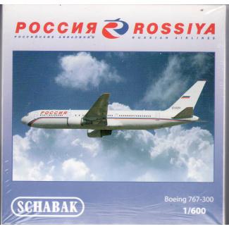 Schuco 3551588 Boeing 767-300 Rossiya Airlines - Modeltreinshop