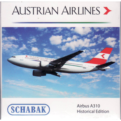 Schuco 3551579 Airbus A310 Austrian Airlines - Modeltreinshop