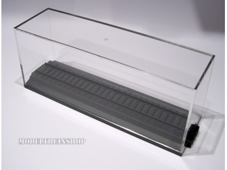 H0 Display van Plexiglas 194 mm Vitrine - Modeltreinshop
