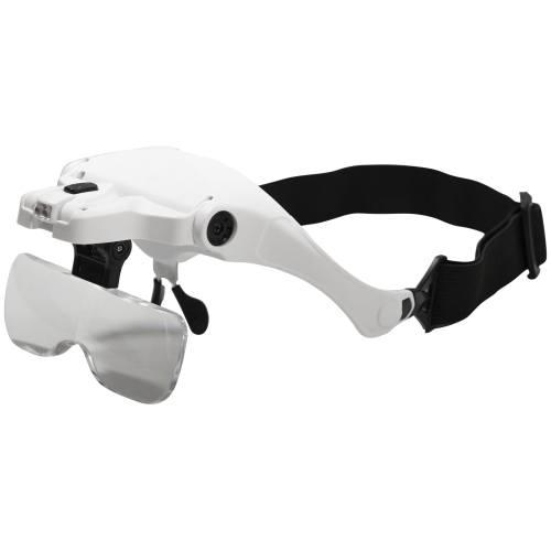 Eagle Magnifier bril met 5 verschillende lensvergrotingen - Modeltreinshop