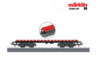 Marklin HO 44734 Bouwsteen wagen - kan ook Lego op - Modeltreinshop