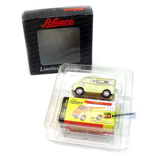 Schuco 01558 Piccolo DKW Schnellaster Bahisen Modellauto Metall 1:90 - Modeltreinshop