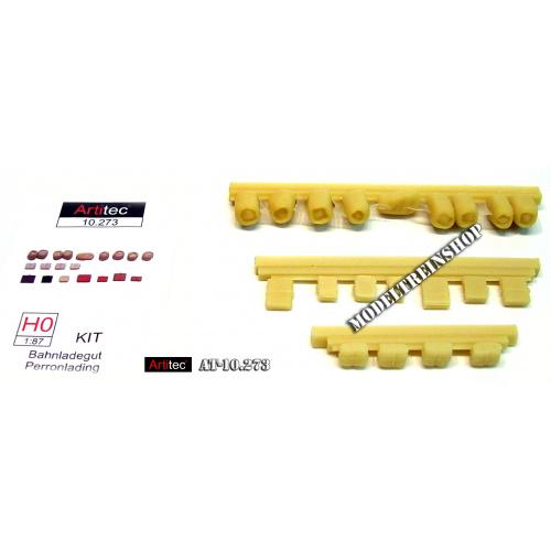 Artitec H0 10.273 Perronlading bouwpakket uit resin, ongeverfd - Modeltreinshop