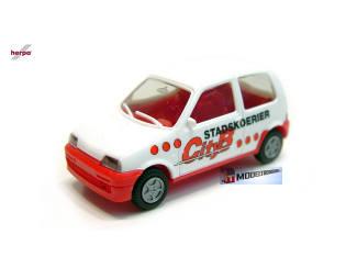 1396 Fiat Cinquecento stadskoerier CityB - Modeltreinshop