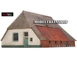 Artitec N 14.122 Boerderij Los Hoes bouwpakket uit resin, ongeverfd - Modeltreinshop