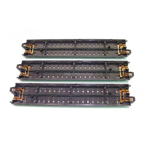 Marklin Alpha Rail 2001 Rechte rail 18 cm 3 stuks - Modeltreinshop