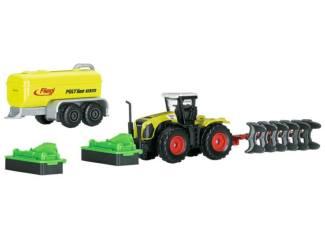 Schuco H0 Marklin 29652 CLAAS Tractor met gierton - Modeltreinshop