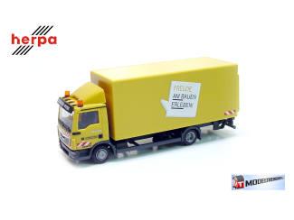 Herpa H0 306355 MAN TGL K-LKW Leonhard Weiss - Modeltreinshop