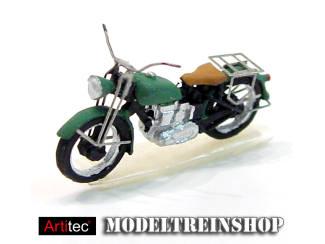 Artitec H0 387.05 Motor Triumph civiel, groen, kant en klaar, geverfd - Modeltreinshop