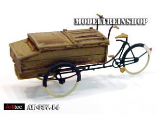 Artitec H0 387.14 Bakkerskar kant en klaar resin, geverfd - Modeltreinshop