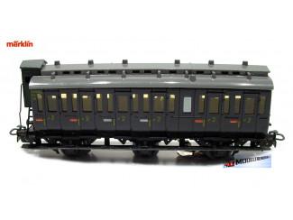 Marklin H0 4005 V7 Reizigers Rijtuig met verlichting - Modeltreinshop