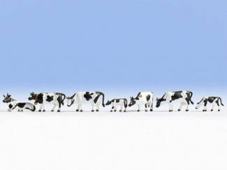 Noch N 36721 Koeien Zwart Wit - Modeltreinshop