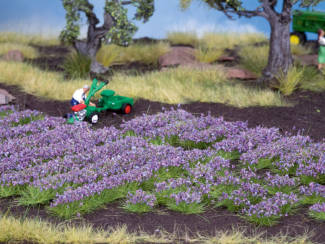 Noch 07136 Lavendel plukjes en stroken 36 stuks - Modeltreinshop