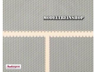 Auhagen H0 41206 4 Betonnen Bestrating Vellen - Modeltreinshop