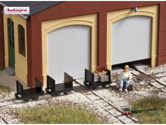 Auhagen H0 41704 Smalspoor Schutboord Wagens 3 stuks - Modeltreinshop