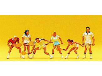 Preiser H0 10078 Tennisspelers - Modeltreinshop