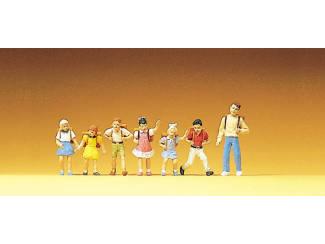 Preiser H0 10181 Schoolgaande Kinderen - Modeltreinshop