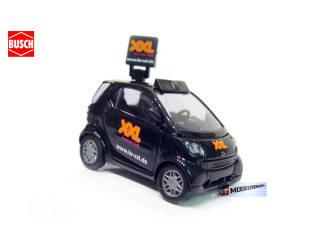Busch H0 48995 Smart Fortwo Hessischer Rundfunk XXL - Modeltreinshop