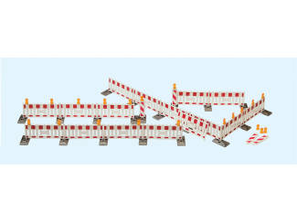 Preiser H0 17182 Wegafzettingen - Modeltreinshop