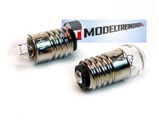 Lampje met schroeffitting E 5,5 - 16v 0,05A - 56775 - Modeltreinshop